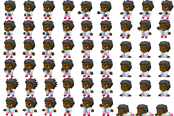 Lynvia's Graphics Stop - Tall Sprite and Dragon Generator